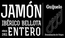 JAMÓN IBÉRICO BELLOTA D.O.P. GUIJUELO AÑADA 2011 ENTERO