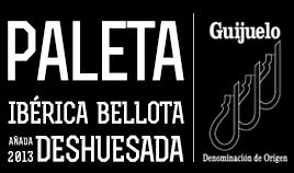 PALETA IBÉRICA BELLOTA D.O.P. GUIJUELO AÑADA 2013 DESHUESADA