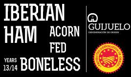 ACORN-FED IBERIAN HAM DOP GUIJUELO ADD 13/14 BONELESS