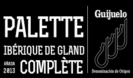 PALETTE IBÉRIQUE D.O.P.GUIJUELO 2013 COMPLET