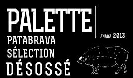 PALETTE PATABRAVA SÉLECTION 2013 DÉSOSÉ