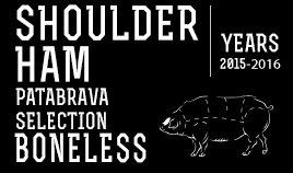 PATABRAVA SELECTION SHOULDER HAM YEARS 15/16 BONELESS