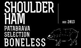 PATABRAVA SELECTION SHOULDER HAM ADD 2013 BONELESS