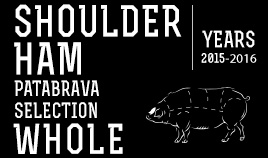 PATABRAVA SELECTION SHOULDER HAM YEARS 15/16 WHOLE