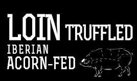 ACORN-FED IBERIAN LOIN TRUFFLED