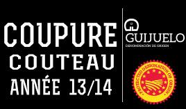 KIT 100GRM. JAMBON IBÉRIQUE DE GLAND DO GUIJUELO ANNÉE 2013-2014