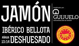 JAMÓN IBÉRICO BELLOTA D.O.P. GUIJUELO AÑADA 13/14 DESHUESADO