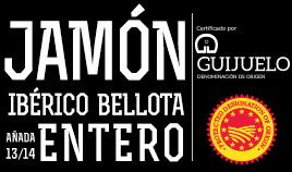 JAMÓN IBÉRICO BELLOTA D.O.P. GUIJUELO AÑADA 13/14 ENTERO