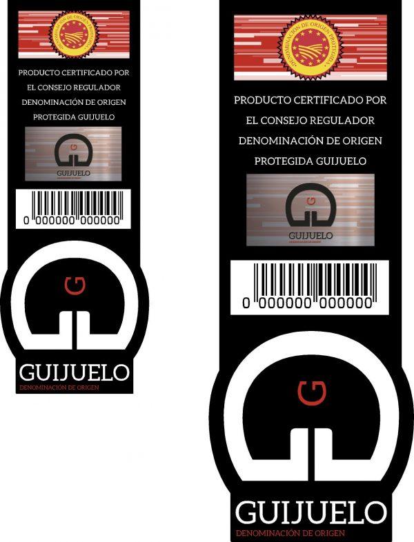 sello garantía D.O.P. Guijuelo